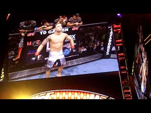 UFC 118 Lightweight World Champion Frankie Edgar Walk-Out