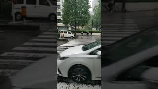 Smoothly raining in Japan