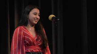 Elizabeth Byrne sings Don't You Worry 'Bout A Thing - Syosset High School Cabaret - 11.4.19
