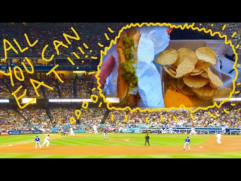 All You Can Eat Section At Dodger Stadium