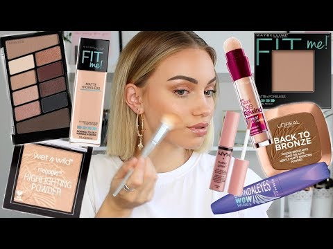 FULL FACE OF DRUGSTORE MAKEUP // New & Old Favourites!