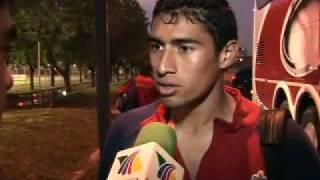 TV AZTECA DEPORTES EN SUDAMERICA CHIVAS ENTRENA DIA 1