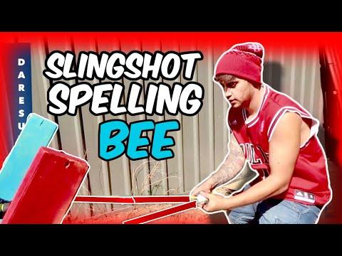 SLINGSHOT SPELLING BEE WEEK 8