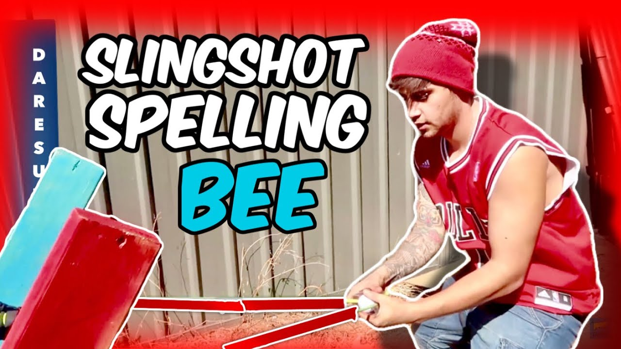 SLINGSHOT SPELLING BEE (WEEK 8)