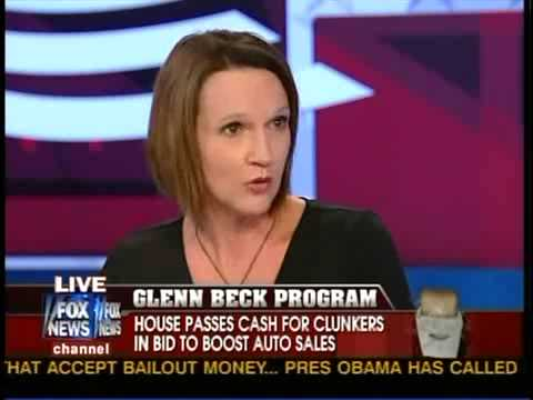 Lori Roman on Glenn Beck Show on the auto bailouts
