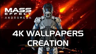 4K Wallpapers Creation For Mass Effect Andromeda (2016-2017)