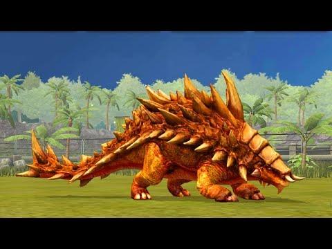 Jurassic World Game Mobile #61: Siêu Phẩm Ankylosaurus cực đẹp