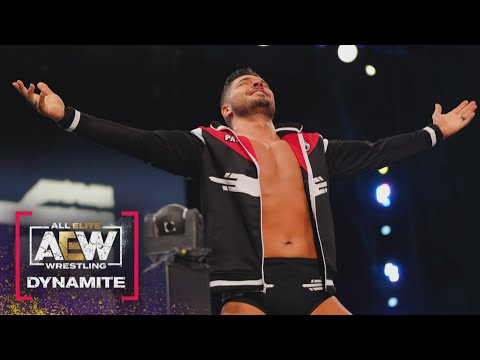 FULL MATCH Lee Johnson vs Ethan Page in his AEW in Ring Debut   AEW Dynamite