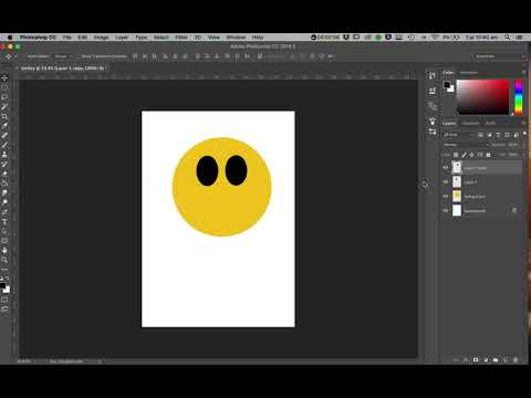 How To Make An Emoji 'Smiley Face' Photoshop Tutorial
