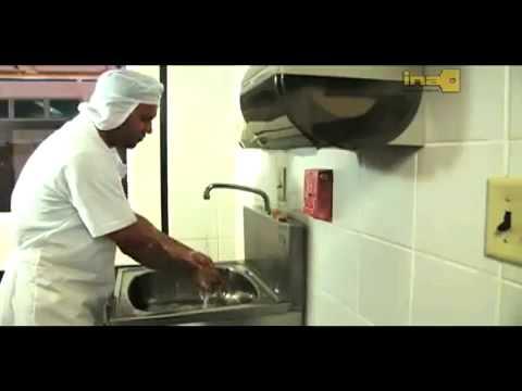 Lavado de manos desinfecci n y sanitizaci n youtube for Lavado de manos en la cocina