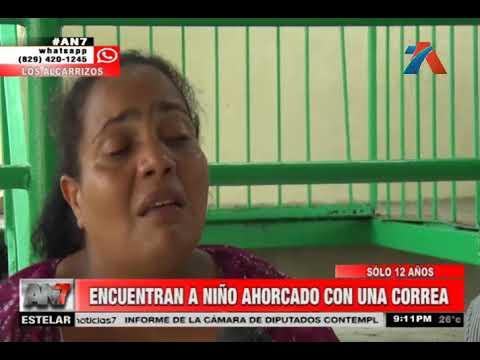 Encuentran a niño ahorcado con una correa en Los Alcarrizos