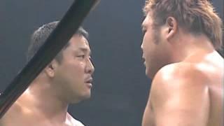 NOAH - Hiroshi Tanahashi & Yuji Nagata vs Takeshi Morishima & Takeshi Rikio thumbnail