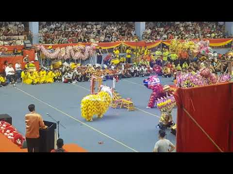 Yick Nam Dragon , Unicorn  火麒麟  , Lion Dance 2018