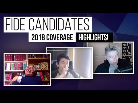 CANDIDATES Coverage 2018 Highlights | Chessbrah