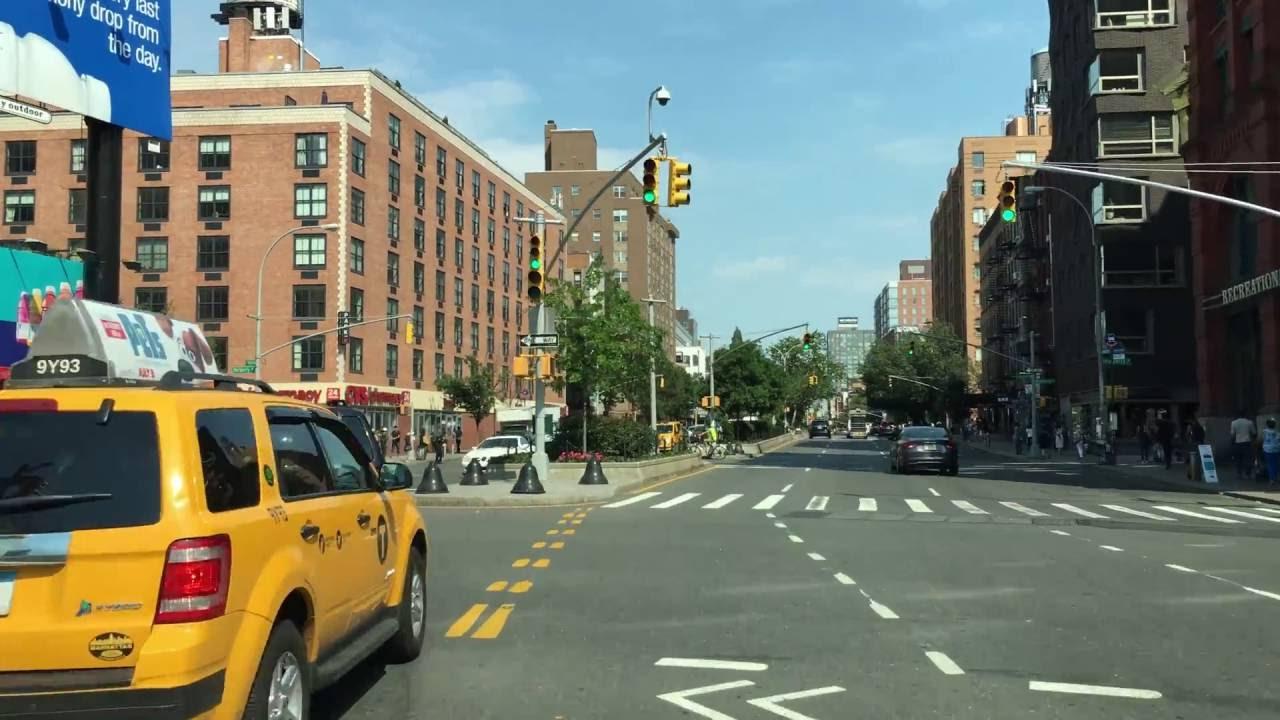 Driving Downtown - SoHo Street - New York City NY USA ...