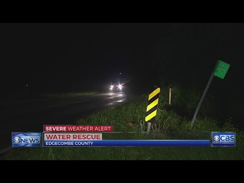No one found in car during Edgecombe County water rescue