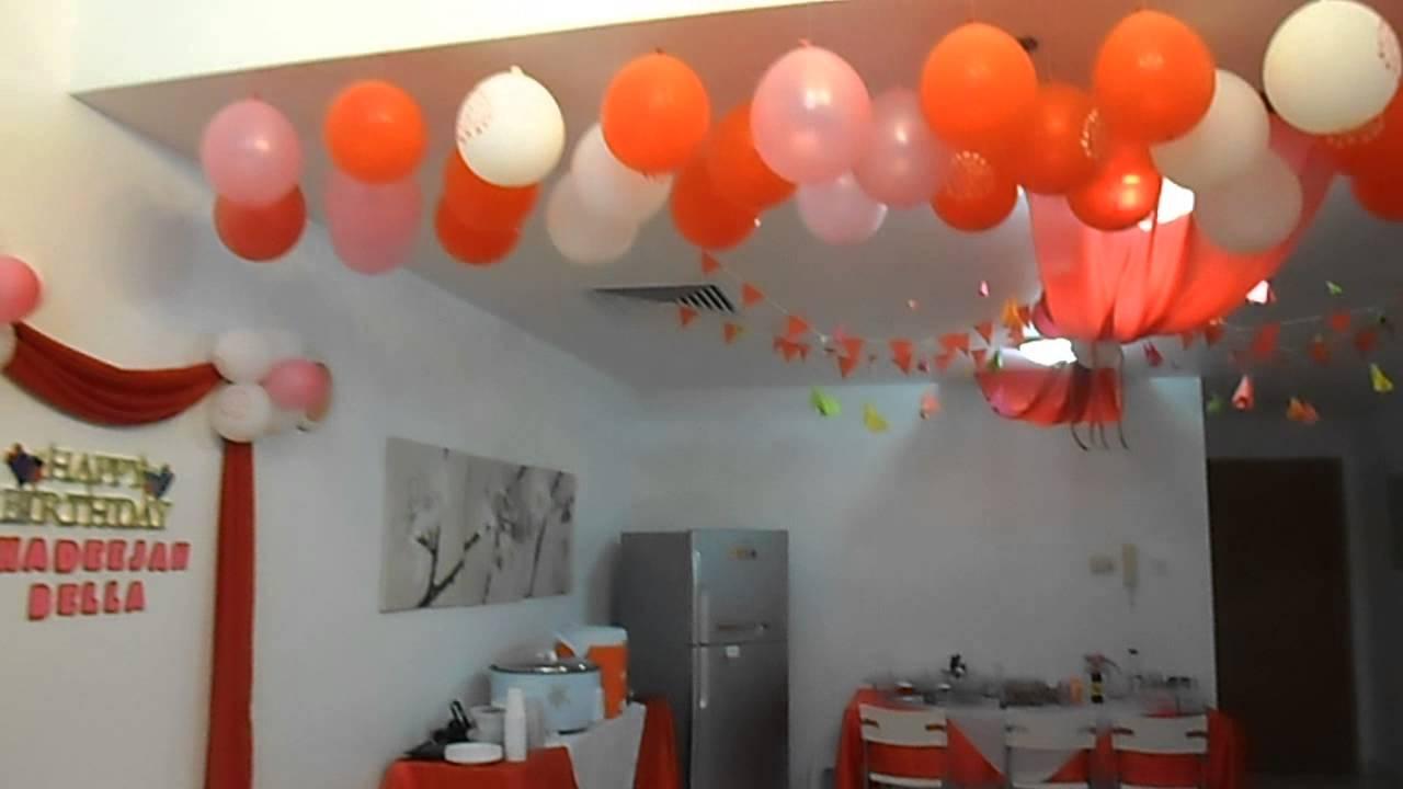 Birthday Party Decorations Idea - YouTube