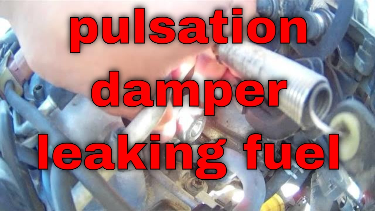Leaky fuel pulsation damper Replacement Toyota Camry √ Fix it Angel