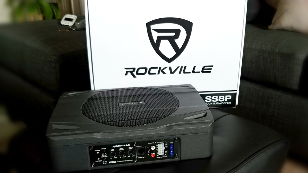 Download Rockville SS8P Under Seat Subwoofer. Is It Any Good??
