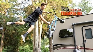TRAMPOLINE GAME OF BIKE!