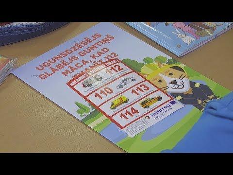 Skolās veicina izpratni par 112