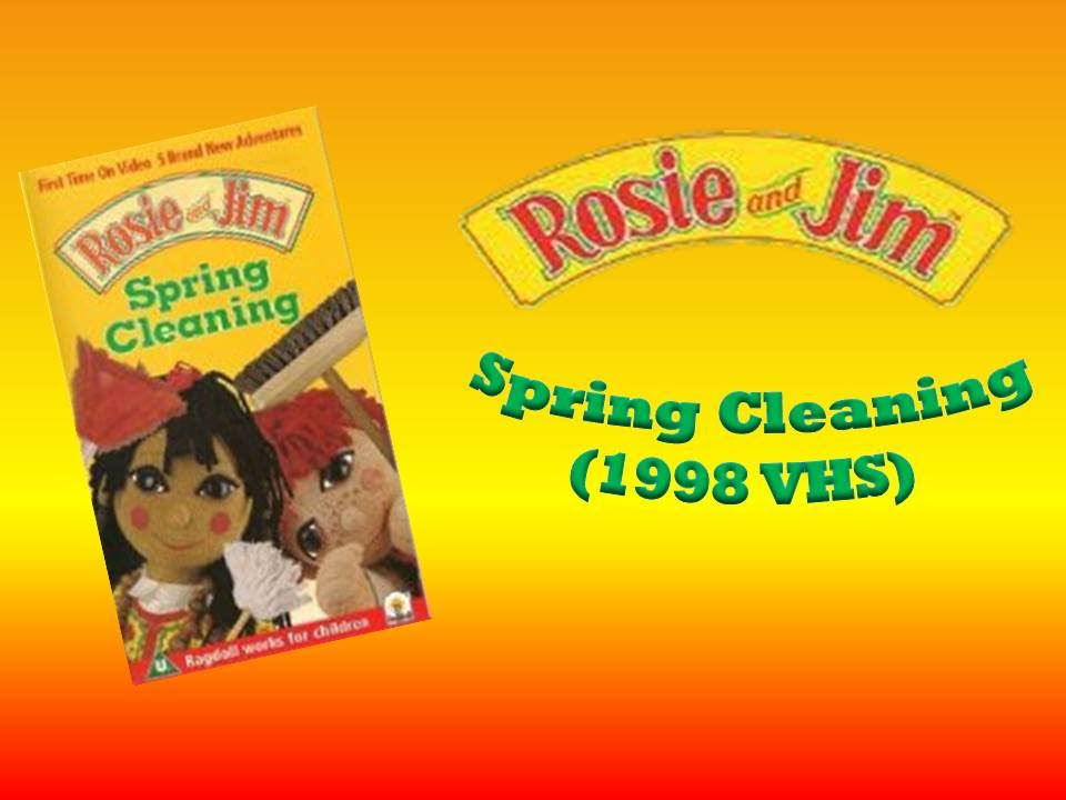 rosie and jim: spring cleaning (1998 vhs) - youtube