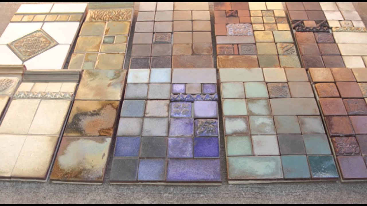 Handmade tiles with pasadena craftsman tile youtube dailygadgetfo Gallery