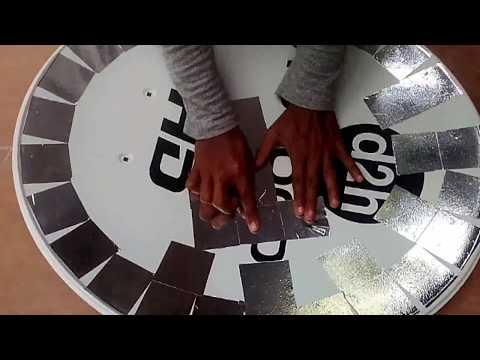 Make PARABOLIC REFLECTOR To Concentrate SOLAR POWER -HOW TO  DIY Parabolic Mirror