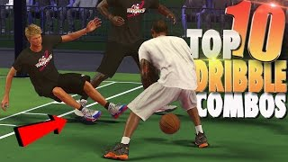 NBA 2K17 TOP 10 Mind Blowing Ankle Breaker Dribble COMBOS!
