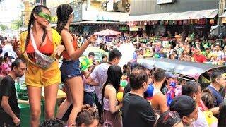 INSANE WATER FIGHT- SONGKRAN AT SOI 4 SUKHUMVIT 2019. BANGKOK, THAILAND
