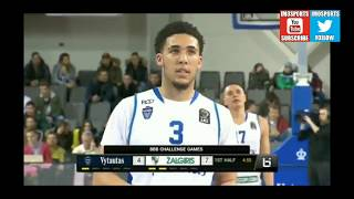 Liangelo and Lamelo Ball Pro Debut Highlights From Lithuania BBB Challenge