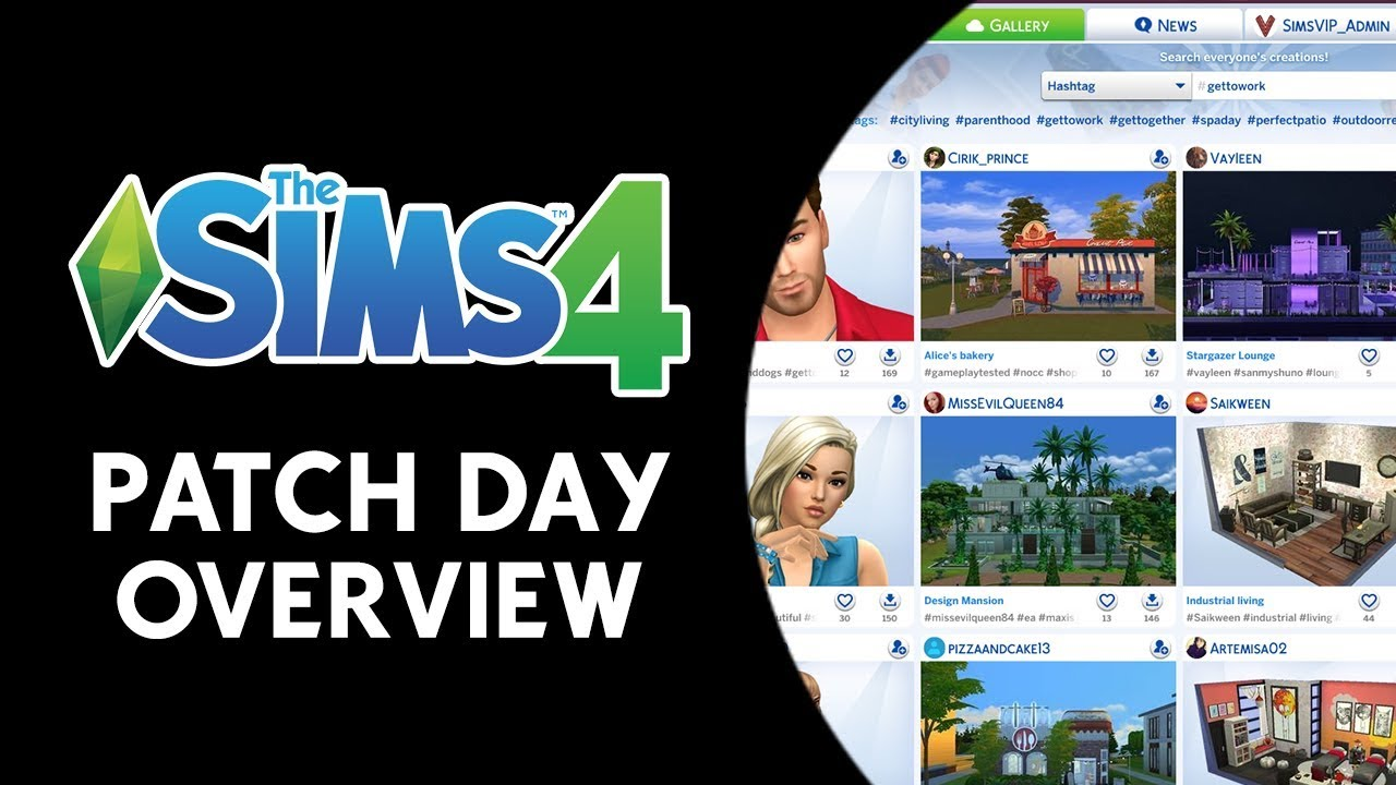 The Sims 4 Patch Day Overview! (GALLERY OVERHAUL, BUG FIXES, AND MORE!)