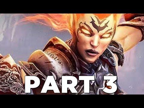 DARKSIDERS 3 Walkthrough Gameplay Part 3 - FURY (Darksiders III)
