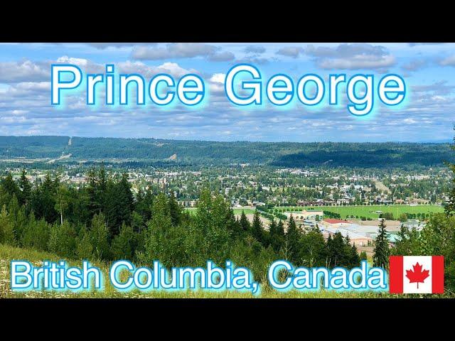 Prince George SuperNatural British Columbia | Capital of Northern British Columbia