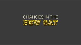 What Are The Changes In The New SAT? thumbnail