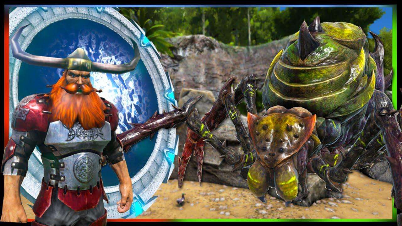 ARK Survival Evolved Mods Stargate Portal Viking Aliens YouTube - Minecraft wikinger hauser