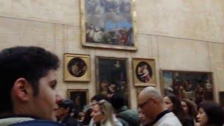 Paris MONA LISA Leonardo da VINCI LOUVRE