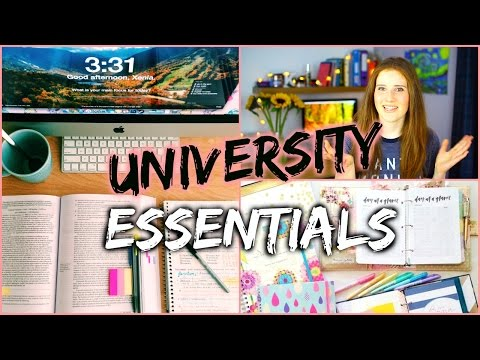 ESSENTIALS for Every University/College Student!