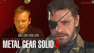 Metal Gear Solid 5 The Phantom Pain - Kiefer Sutherland Official Snake Voice Actor Revealed E3M13