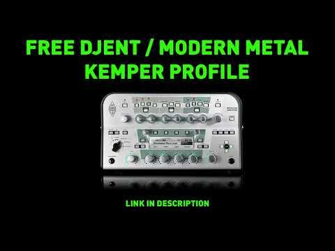 Free Djent / Modern Metal Kemper Profile