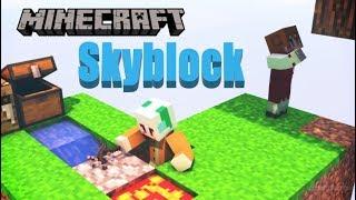 【Minecraft】クマと雪ウサギのSkyblock視点配信版【こぐまろ】