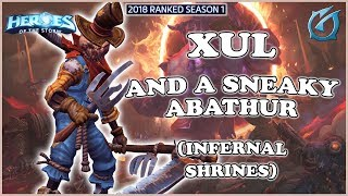 Grubby | Heroes of the Storm - Xul - And a Sneaky Abathur - HL 2018 S1 - Infernal Shrines