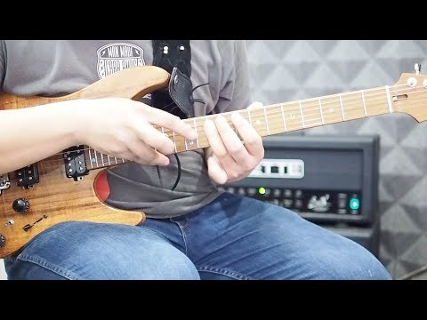 Highway Star : Keyboard Solo - Arranged for guitar by Peter Sow