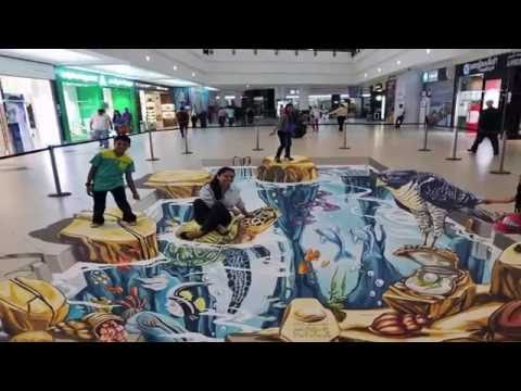amazing paintings- Stunning 3D Street Art Paintings amazing Video