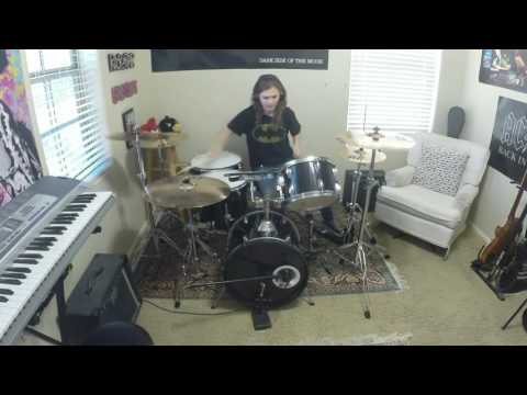 "MUSE ""Time is Running Out"" a drum cover by Emily"