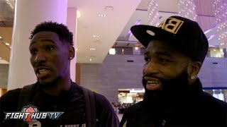 "Adrien Broner ""Spence gonna win, but not gonna be as easy as people think"""