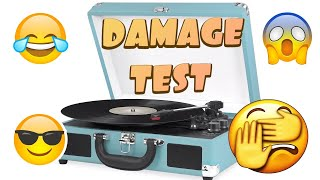 Will a suitcase player DAMAGE …