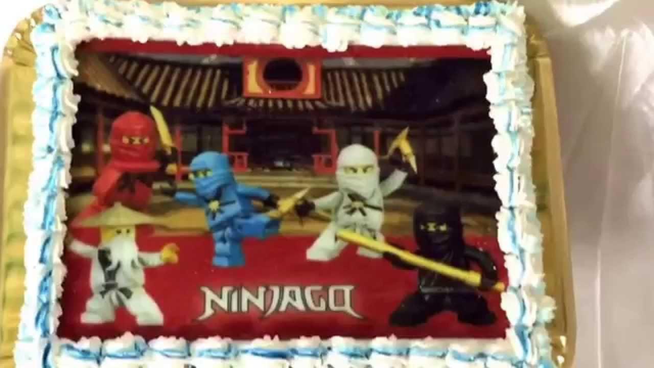 NINJAGO Torten   YouTube