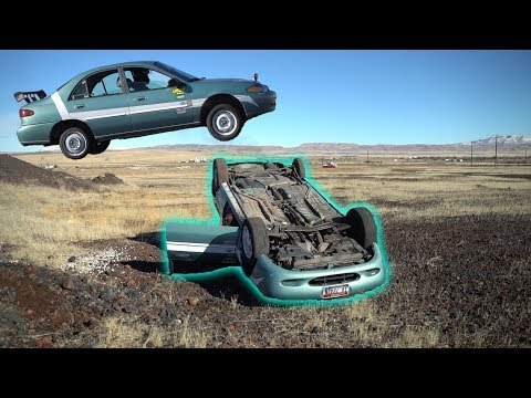 How LONG Will a Car run FLIPPED OVER?