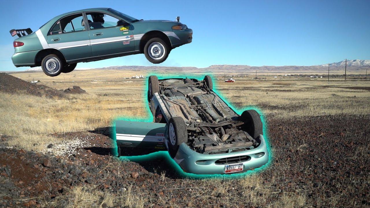 How LONG Will a Car run UPSIDE DOWN?